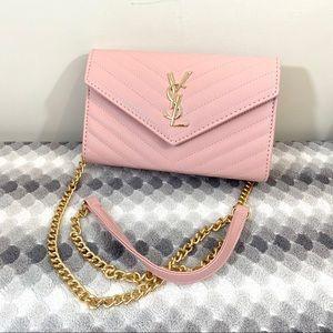 YSL Chain CrossBody Pink Medium